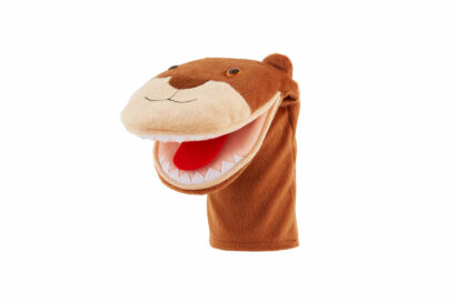Mouth puppet Bear - Speech Therapist Gift