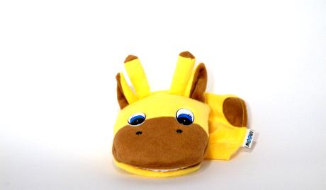 Mouth puppet - Giraffe