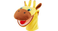 Mouth Puppet Giraffe - Speech Therapy Tool
