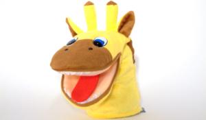 Speech-Therapy-Materials-Puppet-Giraffe